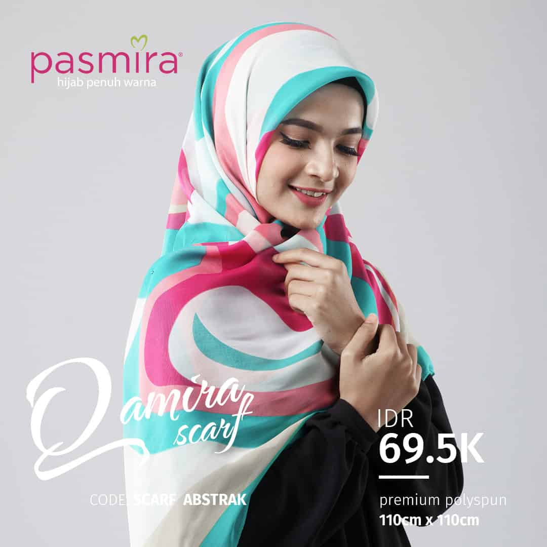 Pasmira Teezy Referensi Daftar Harga Terbaru Indonesia Eclemix Printed Scarf Cosmos Hijab Printing Square Multicolor Abstrak